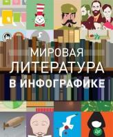 Книга Мировая литература в инфографике