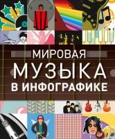 Книга Мировая музыка в инфографике