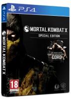 игра Mortal Kombat X Special Edition Steelbook PS4