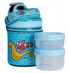 Подарок Термос для еды с контейнерами Laken 1L (KP10-AC)