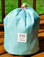 Подарок Органайзер для косметики (нежно-голубой)