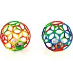 Kids II Мяч OBall с погремушкой внутри 2 цвета (81035)