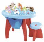 Конструктор развивающий Ecoiffier стол, стул, блоки (7790)