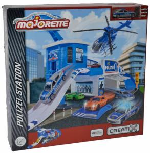 Игровой набор Majorette 'Полицейский гараж' (2050012)