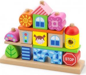 Набор кубиков Viga Toys 'Город' (50043)