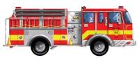 Напольный пазл 'Большая пожарная машина' (MD436)