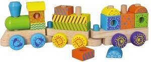 Конструктор Viga Toys 'Поезд' (50572B)