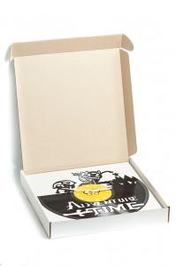 фото Настенные часы из винила Adventure time #2