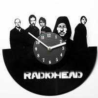 Подарок Настенные часы из винила Radiohead
