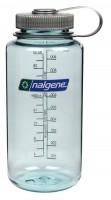 Подарок Бутылка для воды Nalgene 2178-2053 32 Oz Wide Mouth Seafoam, 1л