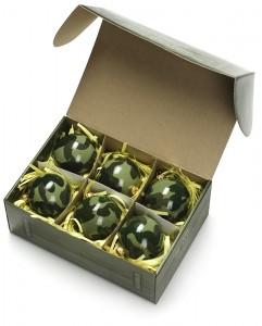 Подарок Набор из шести елочных шаров 'ШАР-404'