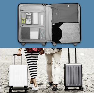 фото Чемодан Xiaomi 90 points suitcase Grey (Р25318) #7