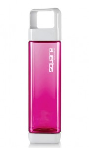 Подарок Бутылка Clean Bottle 001 Tritan Square Raspberry 739 мл