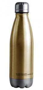 Подарок Термо-бутылка Asobu SBV172 Insulated Stainless Steel Water Bottle Gold 500 мл