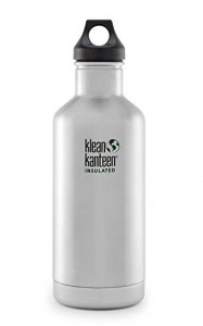 Подарок Бутылка Klean Kanteen K32VCPPL-BS Classic Insulated Stainless Steel Bottle With Loop Cap 946 мл