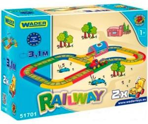 Железная дорога Wader 'Kid Cars' (3,1 м) (51701)