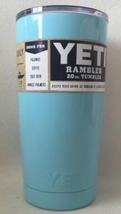 Подарок Чашка Yeti Rambler Tumbler 590 мл (голубая)