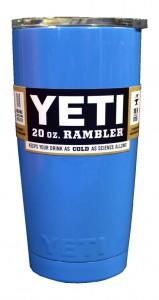 Подарок Чашка Yeti Rambler Tumbler 590 мл (синяя)