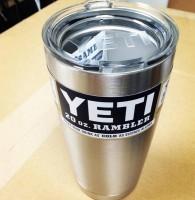 Подарок Чашка Yeti Rambler Tumbler 590 мл (стальная)