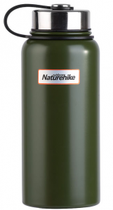 Вакуумный термос NatureHike 0,9л army green (NH60A060-B)
