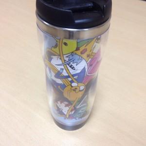 Подарок Оригинальная термокружка 'Adventure Time'