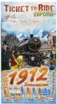 Дополнение к настольной игре Hobby World 'Ticket to Ride. Европа 1912' (1626)