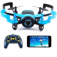 Квадрокоптер JXD 512W 90мм WiFi камера (синий) (45097)