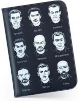 Подарок Обложка для паспорта 'Документикус' черная