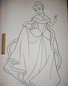 фото страниц Принцессы. Большая раскраска с наклейками #4