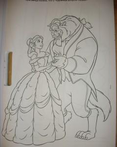 фото страниц Принцессы. Большая раскраска с наклейками #3