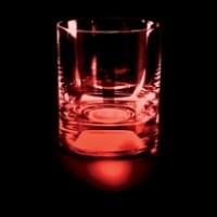 Подарок Стакан 'Люминарус' с красной подсветкой