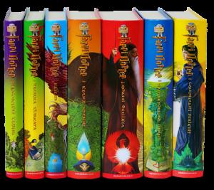 Подарунковий набір Гаррі Поттера. 7 книг