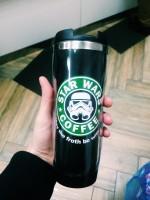 Подарок Термокружка 'StarWars Coffee'