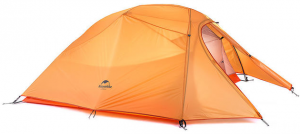 Палатка ультралёгкая NatureHike 'Cloud Up 3' orange (NH15T003-T)