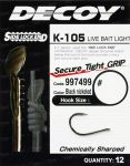 Крючок Decoy K-105 Live bait light 9 (15620341)