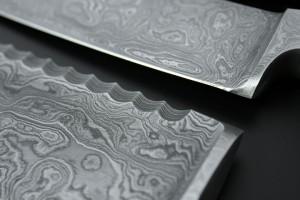 фото Нож Santoku Maestro 'Damascus 5' (120 мм) (MR1482) #2