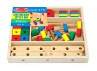 Деревянный строительный конструктор в коробке Melissa & Doug  (MD5151)