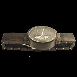 фото Деревянные часы Galtree 'Cronus' #3