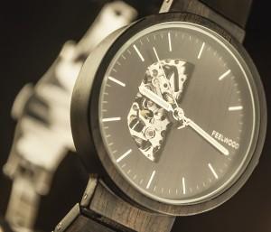 фото Деревянные часы Galtree 'Cronus' #6
