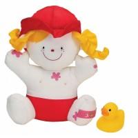 Игрушка для купания K's Kids 'Девочка Джулия с утенком' (10419)