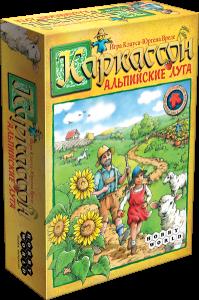 Настольная игра 'Каркассон. Альпийские Луга'