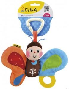 Погремушка-подвеска K's Kids 'Бабочка'