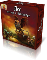 Настольная игра Bombat Game 'Лес: Легенда о Мантикоре' (12354)