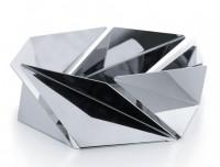 Подарок Фруктовница (ваза для фруктов) Alessi 'Kaleidos' полированная сталь (NS02)