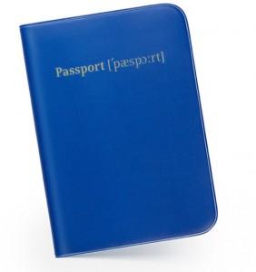 Подарок Обложка для паспорта 'Транскрипция'
