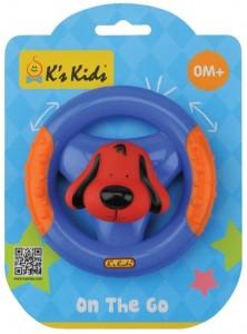Погремушка-прорезыватель K's Kids 'Руль с Патриком'
