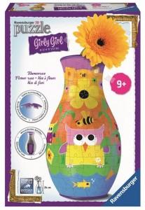 3D пазл 'Girly Girl. Ваза Совы' (RSV-120505)