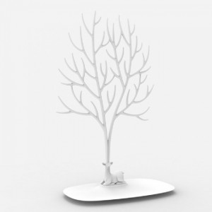 Подарок Для украшений и аксессуаров Qualy 'My Deer Tray' белый (QL10172-WH)