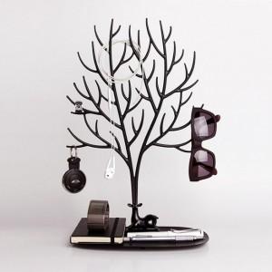 Подарок Органайзер для украшений и аксессуаров Qualy 'My Deer Tray' черный (QL10172-BK)