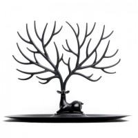 Подарок Для украшений и аксессуаров Qualy 'My Little Deer' черный (QL10171-BK)